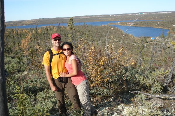 Joyce and Jeff at Dolomite Lake